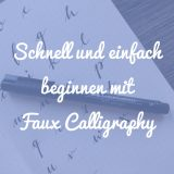 Faux Calligraphy Beitragsbild