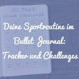 Sportroutine im Bullet Journal Beitragsbild