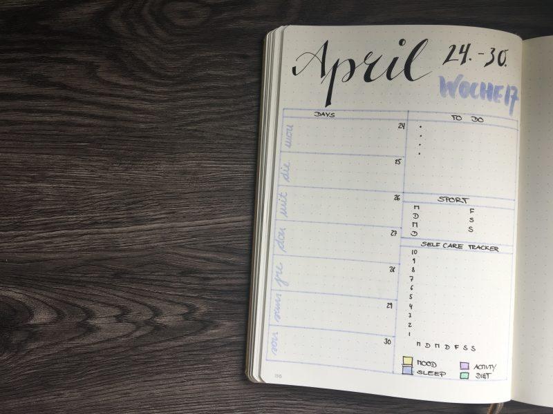 Wochenübersicht April