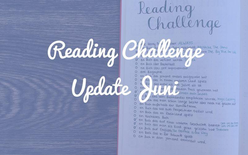Juni-Update: So läuft die Reading Challenge bisher