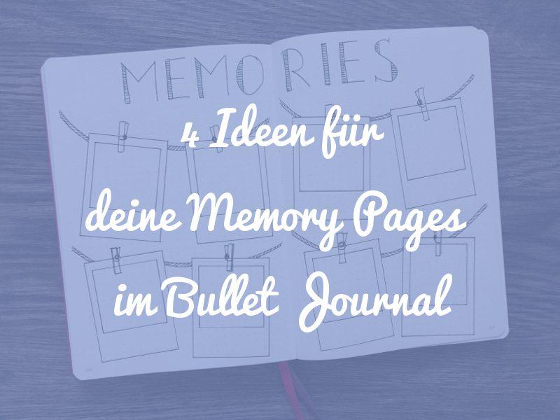 Beitragsbild Memory Pages