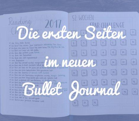 Die ersten Seiten im neuen Bullet Journal gestalten