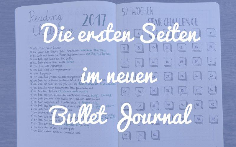 6 Möglichkeiten, wie du die ersten Seiten deines neuen Bullet Journals gestalten kannst
