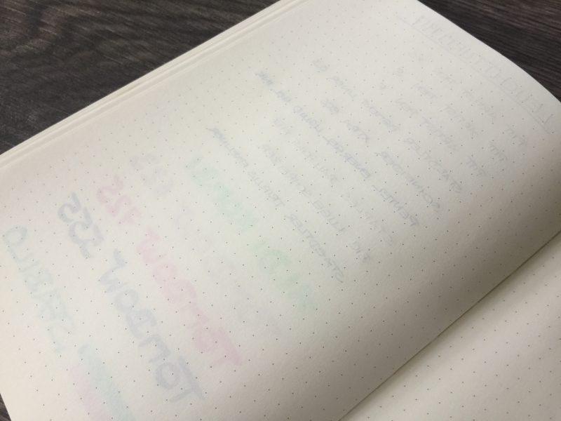 Notizbuch Vergleich Leuchtturm hinten nah