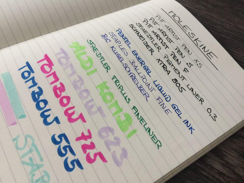 Moleskine Notizbuch Bullet Journal vorne nah