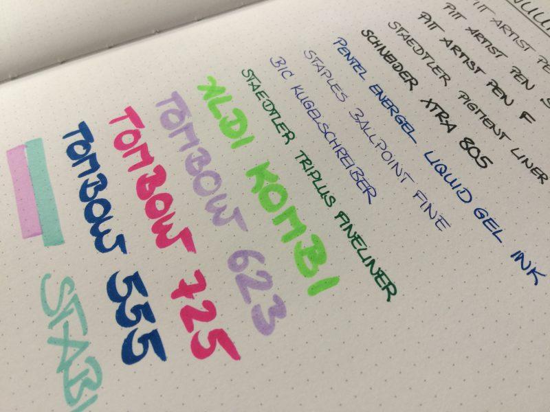 Nuuna Bullet Journal Notizbuch vorne nah