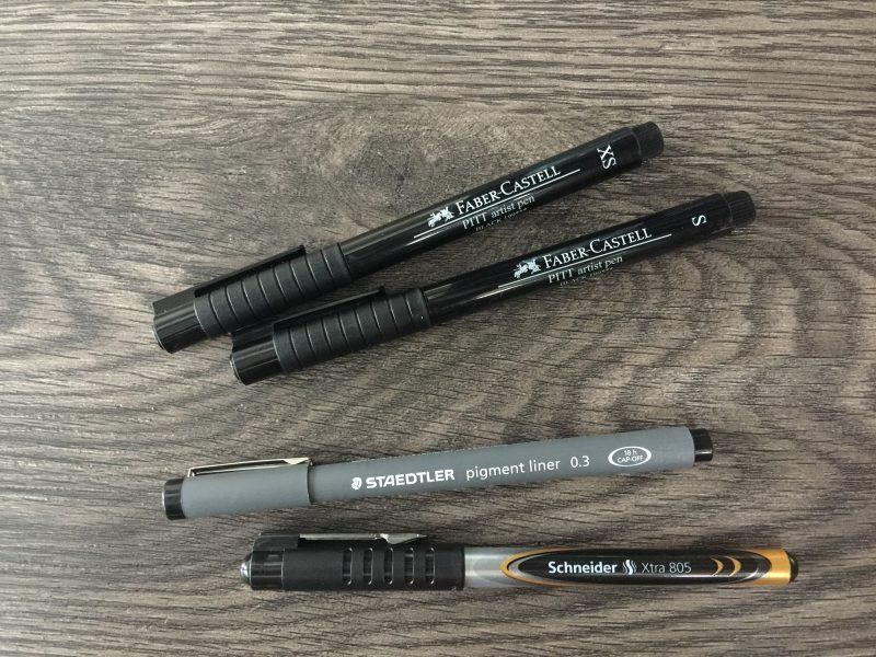 Stifte für den Alltag Übersicht