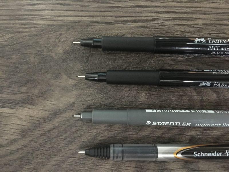 Stifte für den Alltag nah