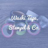 Washi Tape, Stempel & Co.: Zubehör für dein Bullet Journal