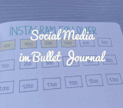 Social Media Tracking im Bullet Journal