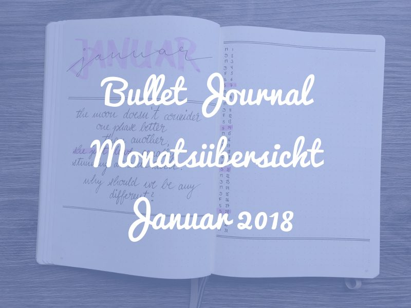 Monatsübersicht Januar