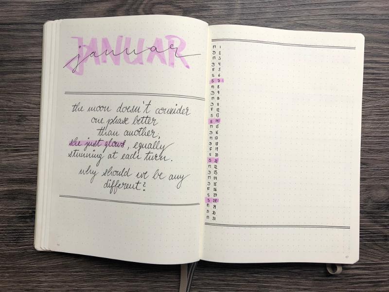 Monatsübersicht Januar Kalender