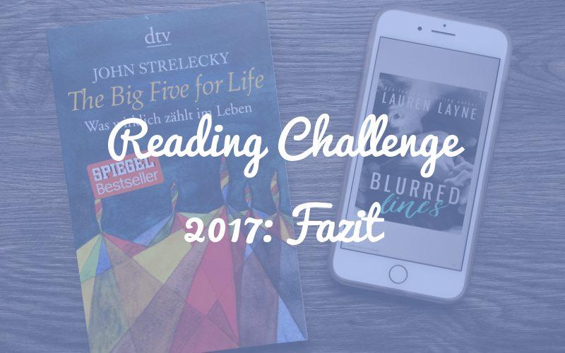 Reading Challenge 2017: Fazit + Punktkariert Reading Challenge für 2018