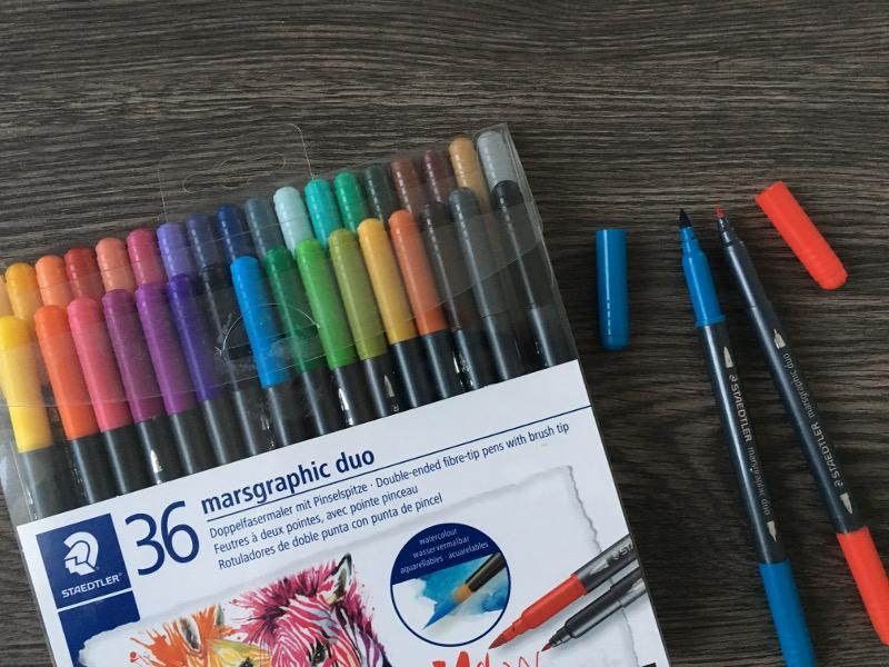 Geschenkideen: Staedtler Brush Pens