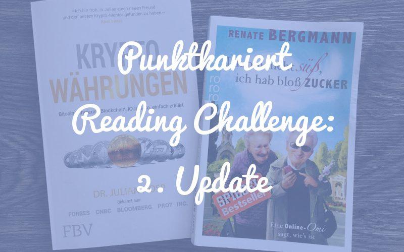 Punktkariert Reading Challenge: Update nach 6 Monaten