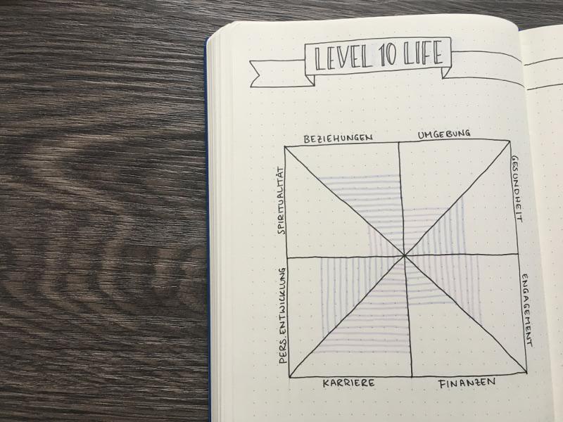Level 10 Life ausgefüllt