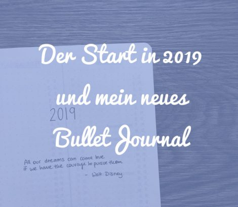 Der Start in 2019 und mein neues Bullet Journal System