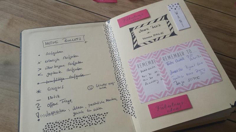Bullet Journal im Mama-Alltag: Key