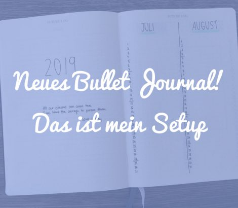 Neues Bullet Journal Setup 2019