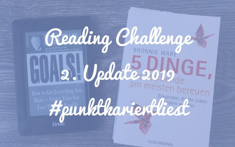 Punktkariert Reading Challenge 2019: Unser Update nach 6 Monaten!