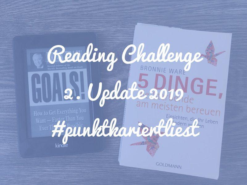 Reading Challenge 2019: 2. Update