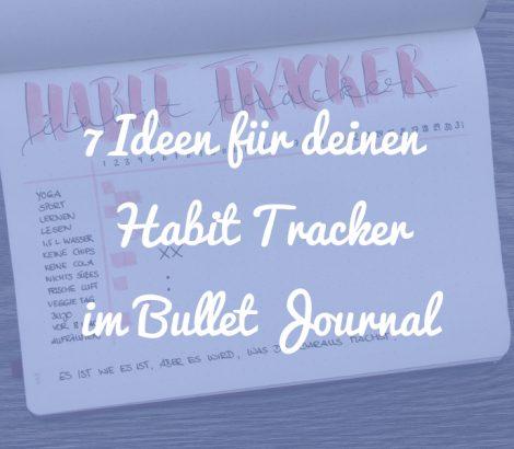 Habit Tracker Beitragsbild