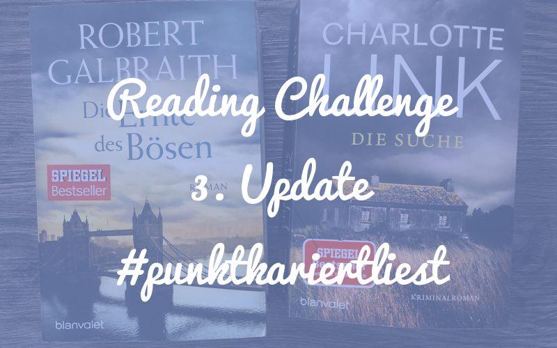 Punktkariert Reading Challenge 2019: Und auf einmal war es schon September!
