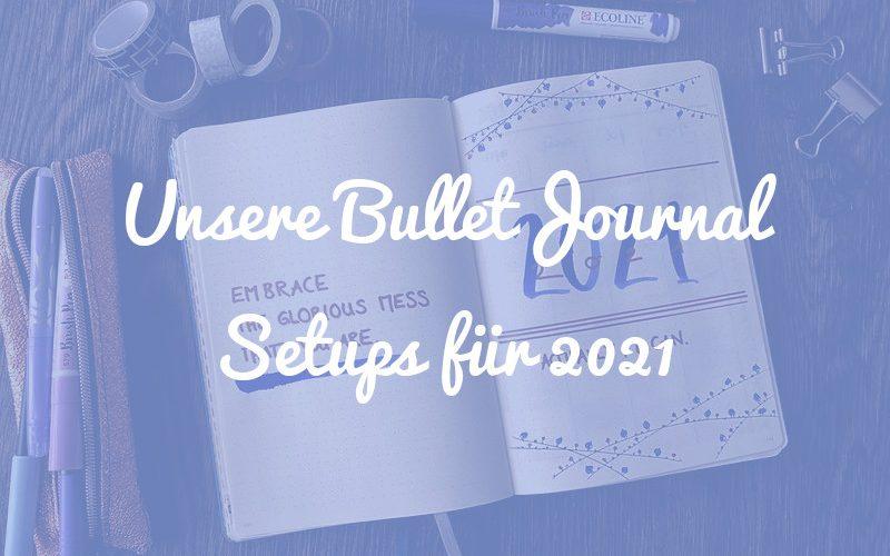 Neues Jahr, neues Glück: Das sind unsere Bullet Journal Setups für 2021