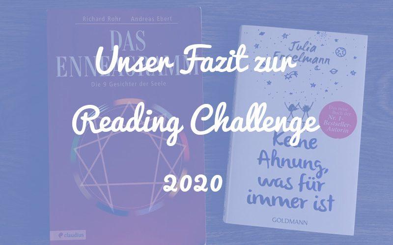 Unser Fazit zur Reading Challenge 2020