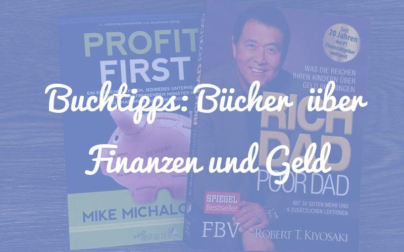 Buchtipps: 7 Bücher über Finanzen und Geld