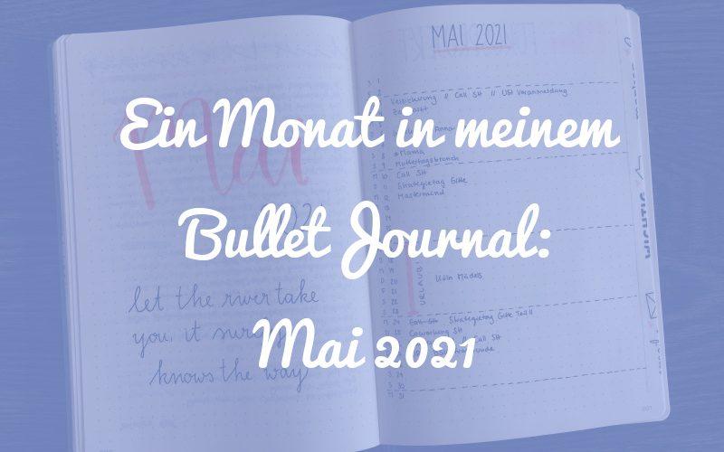 Ein Monat in meinem Bullet Journal: So sah der Mai bei mir aus